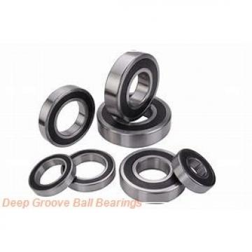 3 mm x 6 mm x 2.5 mm  skf W 627/3-2Z Deep groove ball bearings