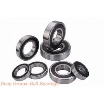 9 mm x 17 mm x 4 mm  skf W 618/9 R Deep groove ball bearings