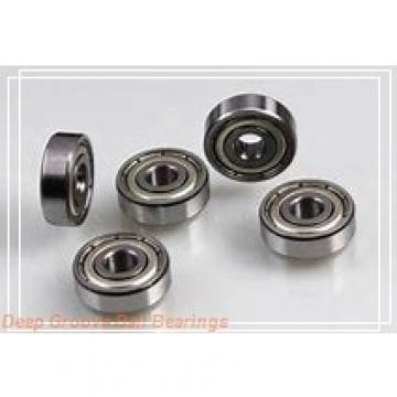 10 mm x 19 mm x 7 mm  skf W 63800 R Deep groove ball bearings