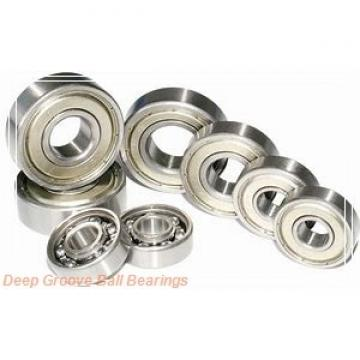 1.984 mm x 6.35 mm x 2.38 mm  skf D/W R1-4 Deep groove ball bearings