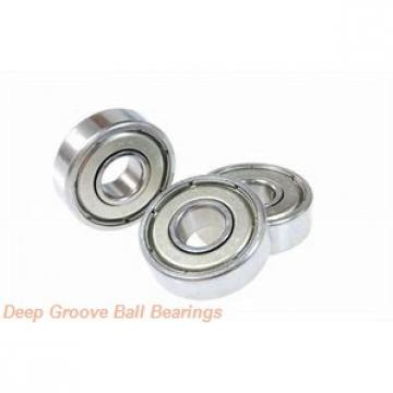 4 mm x 12 mm x 4 mm  skf W 604 R-2RS1 Deep groove ball bearings